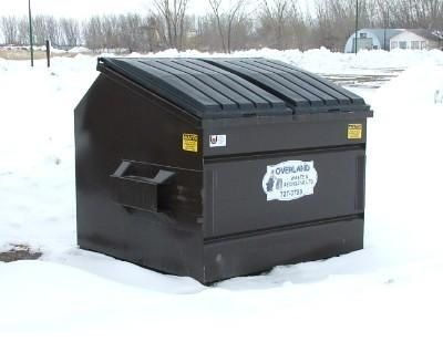 Overland Waste & Recycling trash bin