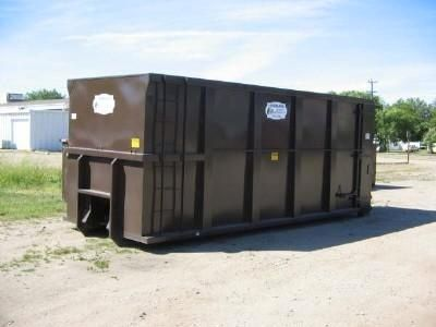 Overland Waste & Recycling dumpster